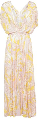 Emilio Pucci Printed Light Jersey Long Dress
