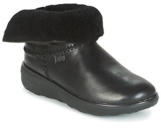 FitFlop MUKLUK SHORTY 2 BOOTS women's Low Ankle Boots in Black