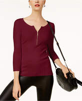 INC International Concepts Zip Henley, Created for Macy's
