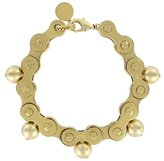 Ela Stone Suzy Bicycle Chain Brass Bracelet