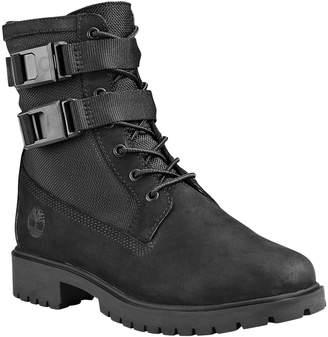 Timberland Women's Casual boots BLACK - Black Jayne Waterproof Leather Boot - Women
