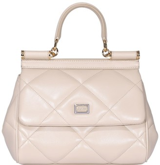 Dolce & Gabbana Quilted Sicily Shoulder Bag