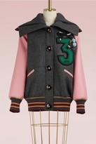 Miu Miu Wool short bomber jacket