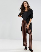 Pieces Libby Striped Wide Leg Pants