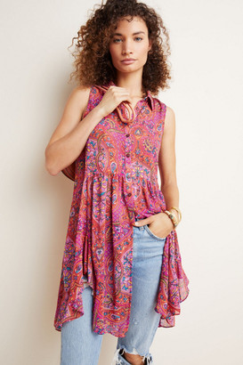 Anthropologie Gideon Sleeveless Tunic