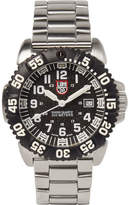 Luminox Navy Seal Colormark 3152 Series Stainless Steel Watch - Silver