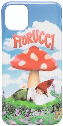 Fiorucci Mushroom print iPhone 11 Pro Max case