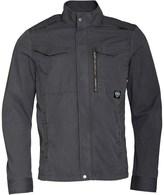 Bench Mens Cotton Biker Jacket Grey