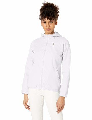 U.S. Polo Assn. Women's Reversible Hooded Windbreaker