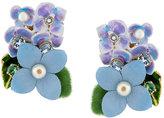 Dolce & Gabbana hydrangea earrings