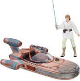Disney Luke Skywalker's Landspeeder Vehicle Set - Star Wars: The Black Series by Hasbro