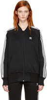 adidas Black 3-Stripes Track Jacket