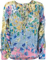 Dondup floral print blouse - women - Polyester - 40