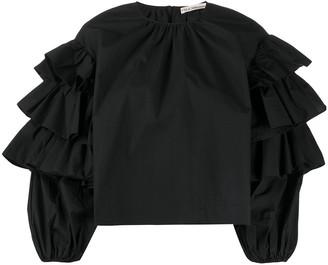Ulla Johnson Tulia ruffled sleeve blouse