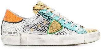 Philippe Model Paris PRSX Metal Python sneakers
