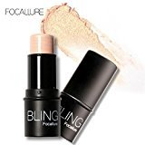 Lookatool BLING Focallure Highlight Powder Stick Gold Shade And Silver (Gold)
