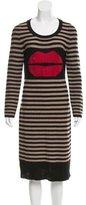 Sonia Rykiel Cashmere-Blend Sweater Dress