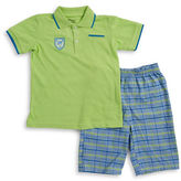 Nannette Boys 2-7 Two-Piece Polo and Shorts Set