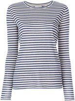 Vince stripe fitted top - women - Silk/Viscose - XS