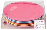 Rice Set of 6 Go for the fun plates