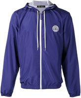 Versace logo zip hoodie - men - Polyester - 46