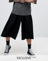 Reclaimed Vintage Inspired Wide Leg Culottes