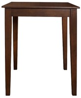 Crosley Tapered Leg Pub Table Wood/Mahogany
