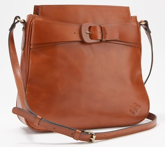 Patricia Nash Leather Antilly North/South Sling Bag