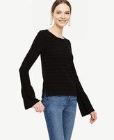 Ann Taylor Petite Bell Sleeve Sweater