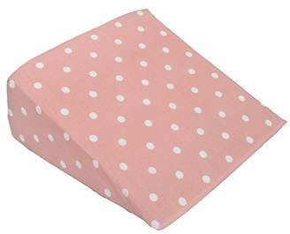 Cuddles Collection Dotty Wedge Pillow (Pink)
