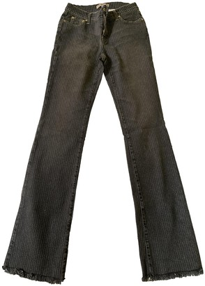 See by Chloe Grey Denim - Jeans Trousers for Women