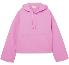 Acne Studios Joghy Printed French Cotton-terry Hoodie