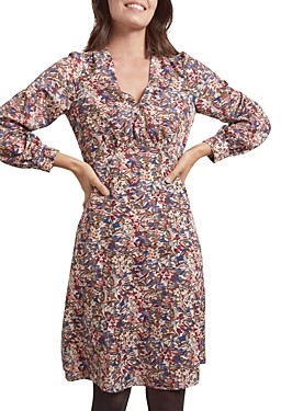 Gerard Darel Thess Floral Print Dress