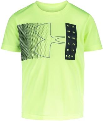 Under Armour Boys' Pre-School UA Fade Branded Short Sleeve