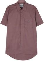 Vivienne Westwood Dark Rose Stretch Cotton Shirt