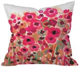 DENY Designs Natasha Wescoat Brightly Blooming Throw Pillow