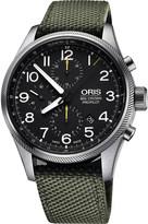Oris 4134-07 5 22 14fc Crown ProPilot stainless steel watch
