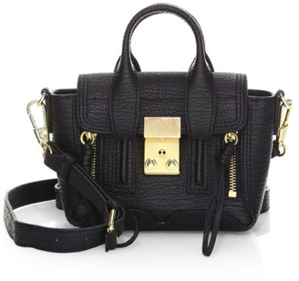 3.1 Phillip Lim Nano Pashli Leather Satchel