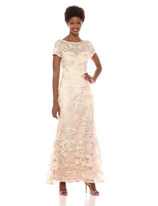 JS Collections Women's Soutache Aline Gown