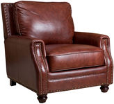 One Kings Lane Edward Club Chair, Auburn Leather