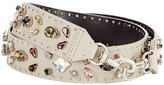 Rebecca Minkoff Jewel Guitar Strap in Putty