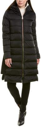 Herno Dora Medium Down Wool-Blend Coat