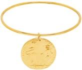 ALIGHIERI Il Leone gold-plated bangle