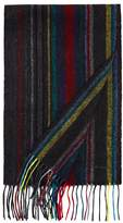 Paul Smith Striped Wool Scarf