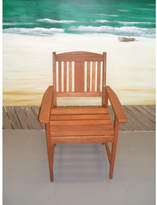 Clyde Slatted Timber Armchair