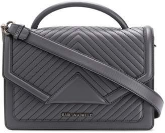 Karl Lagerfeld Paris K/Klassik quilted shoulderbag