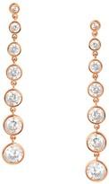 Crislu Linear Drop Earrings