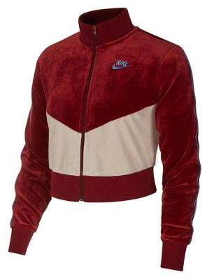 Nike Chevron Fleece Zip-Front Jacket