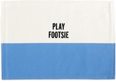 Kate Spade Food For Thought Collection Play Footsie Placemat