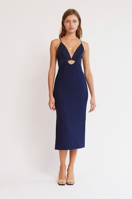 Finders Keepers NADINE DRESS Midnight Navy